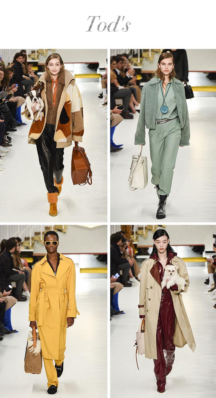 Resumo Milan Fashion Week - Tods