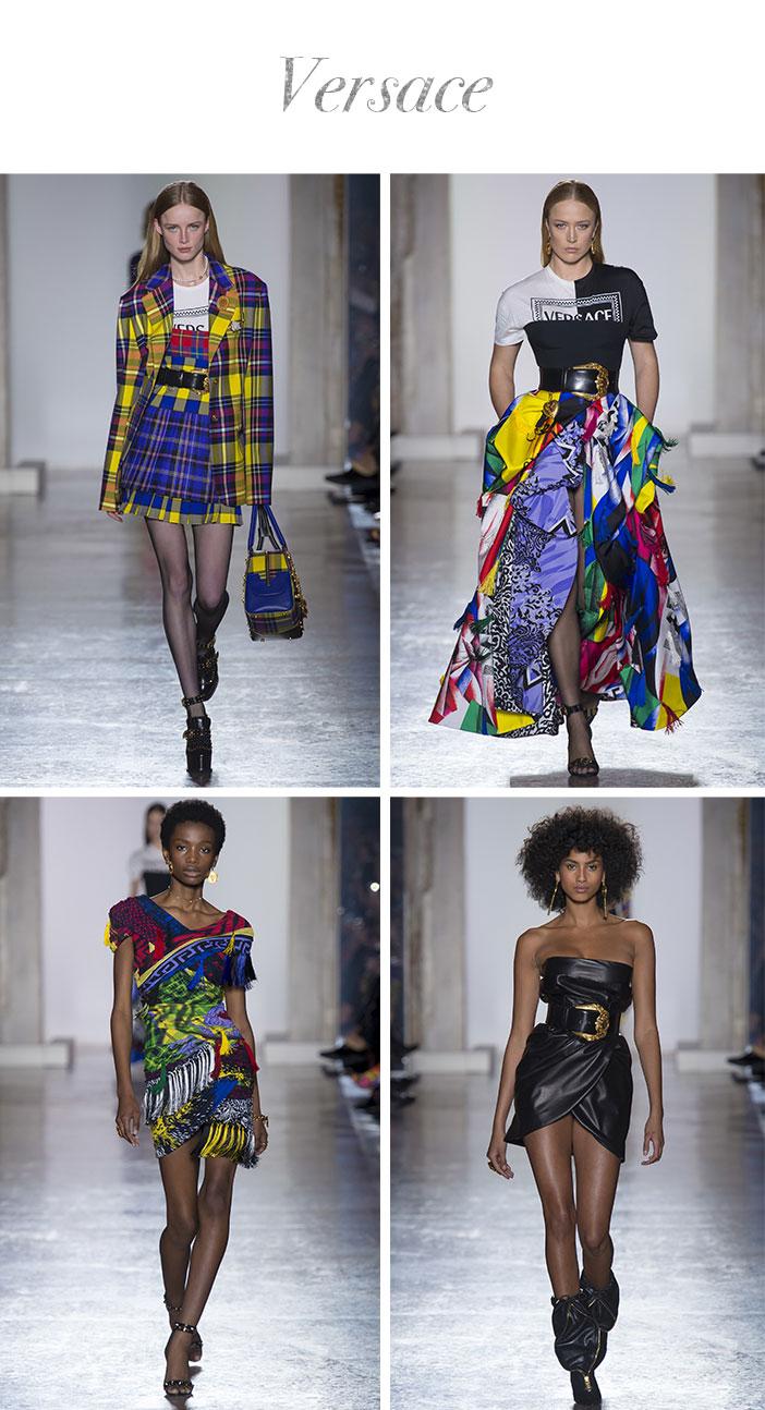 Resumo Milan Fashion Week - Versace