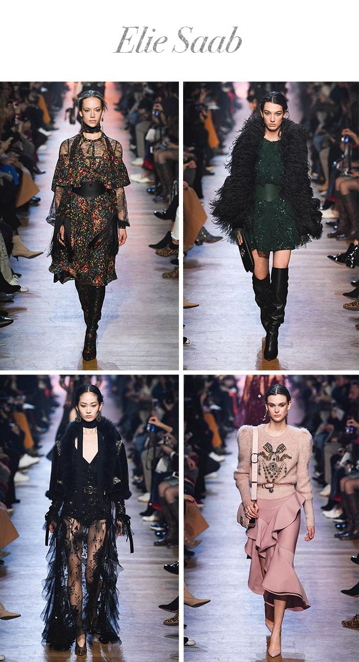 Resumão Paris Fashion Week Inverno 2018 - Elie Saab