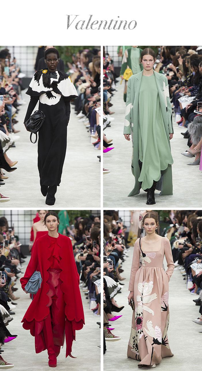 Resumão Paris Fashion Week Inverno 2018 - Valentino
