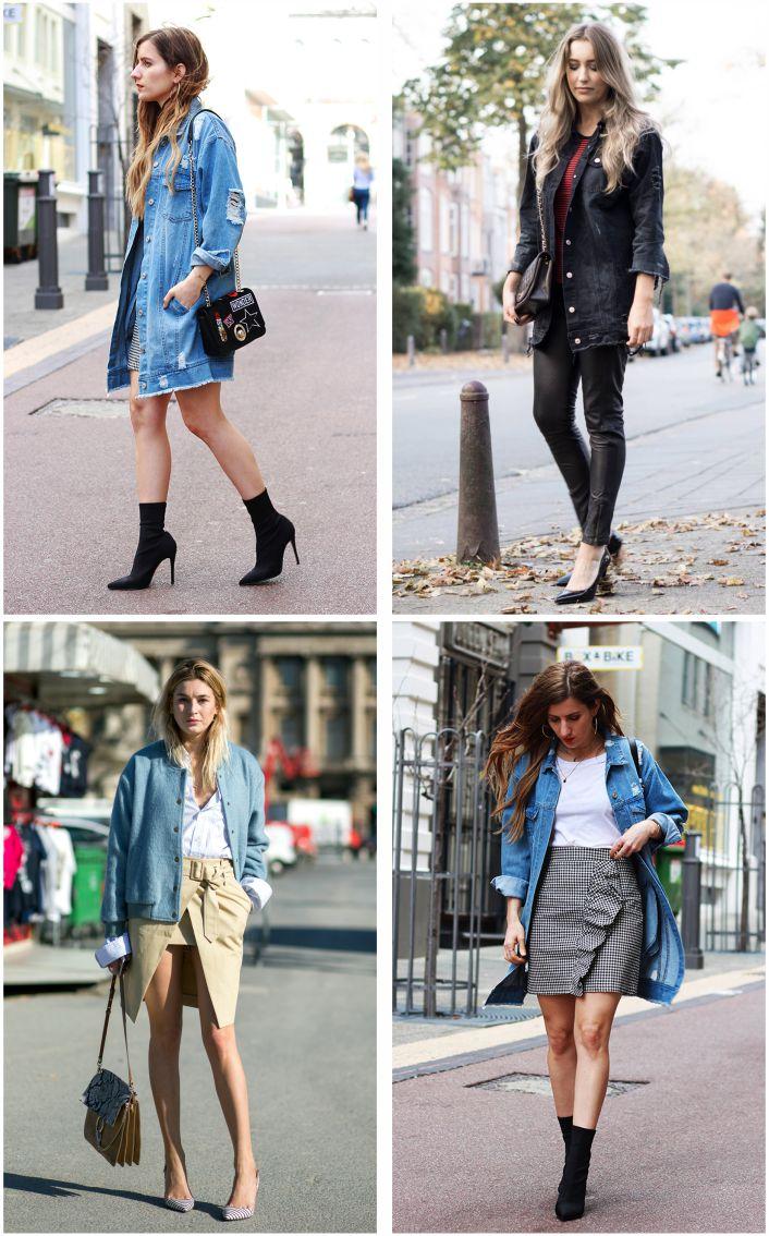 Como usar jaqueta jeans oversized - Por Layla Monteiro