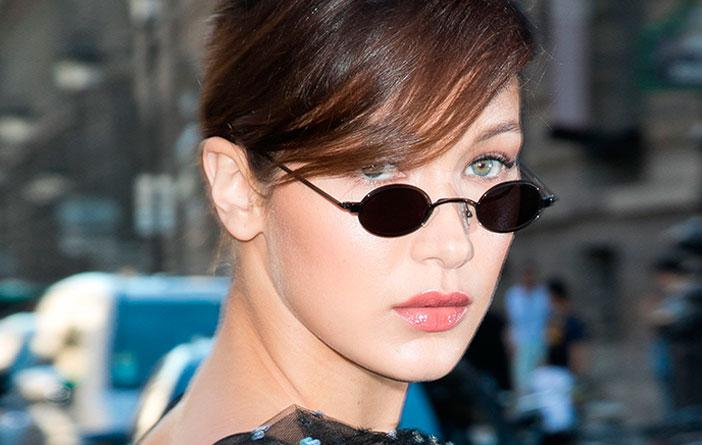 Tendência – Mini óculos escuro