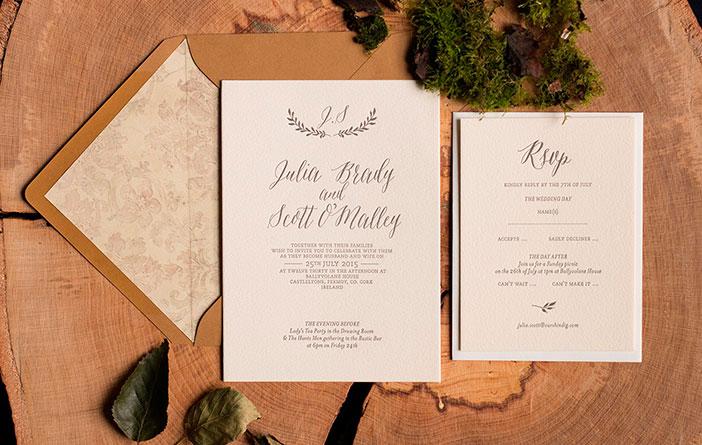 Dicas para escolher o convite de casamento