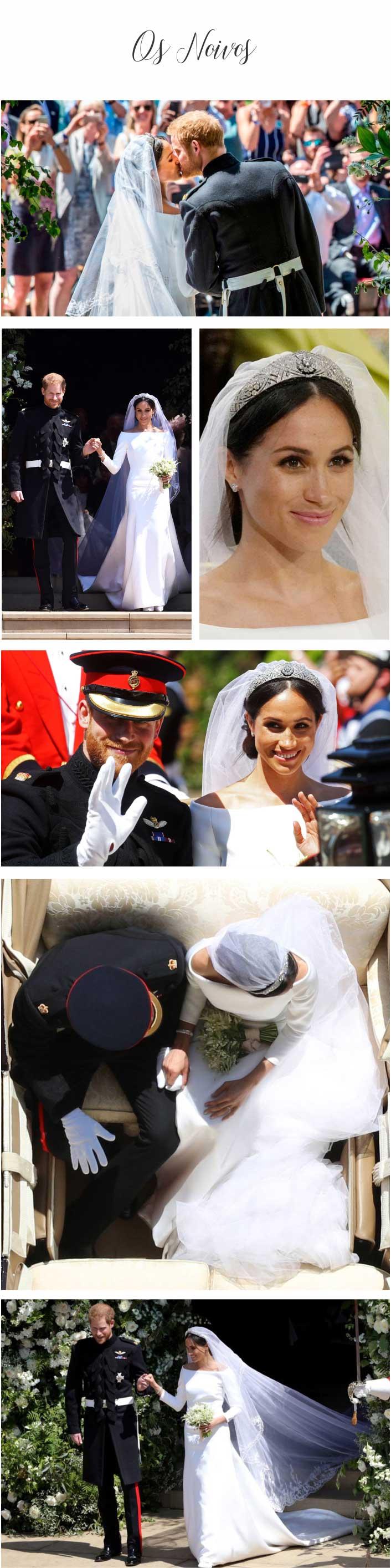 Casamento Real - Príncipe Harry e Meghan Markle - Os Noivos
