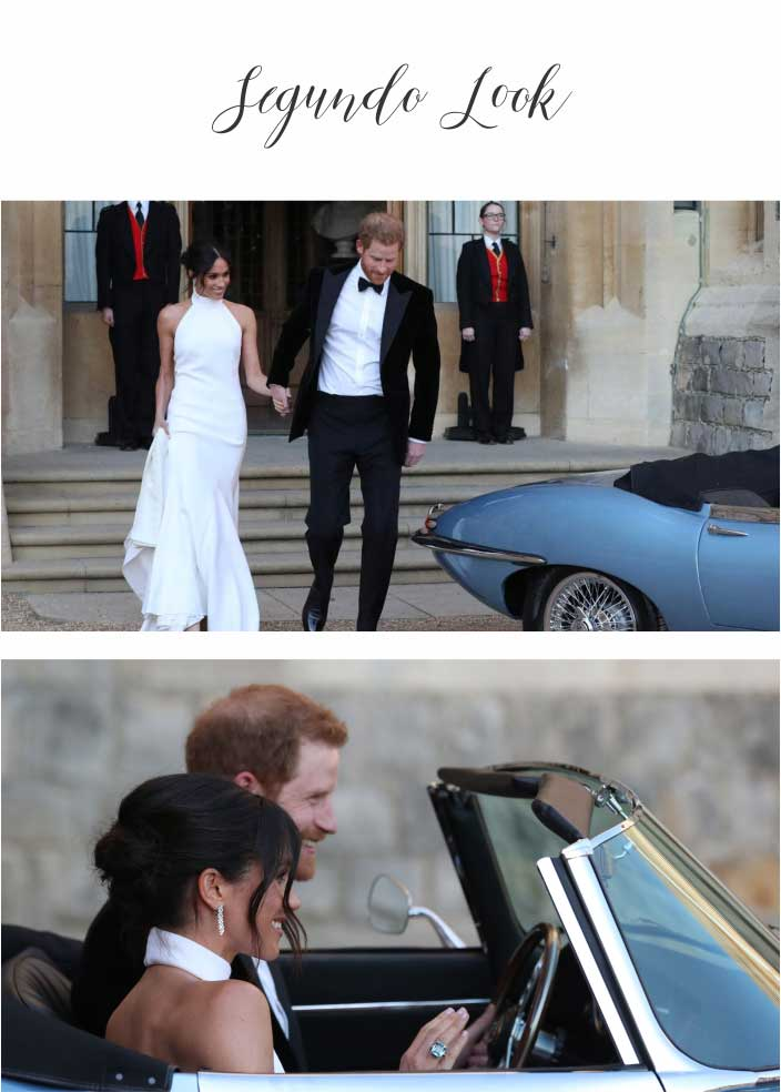 Casamento Real - Príncipe Harry e Meghan Markle - Segundo Look dos Noivos