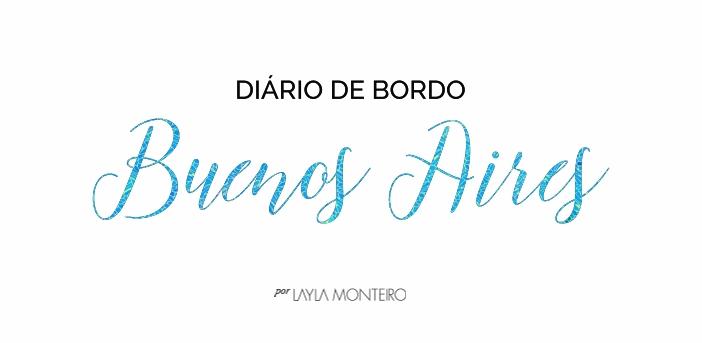 Diário de Bordo - Buenos Aires