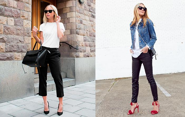 Peça essencial: Calça preta