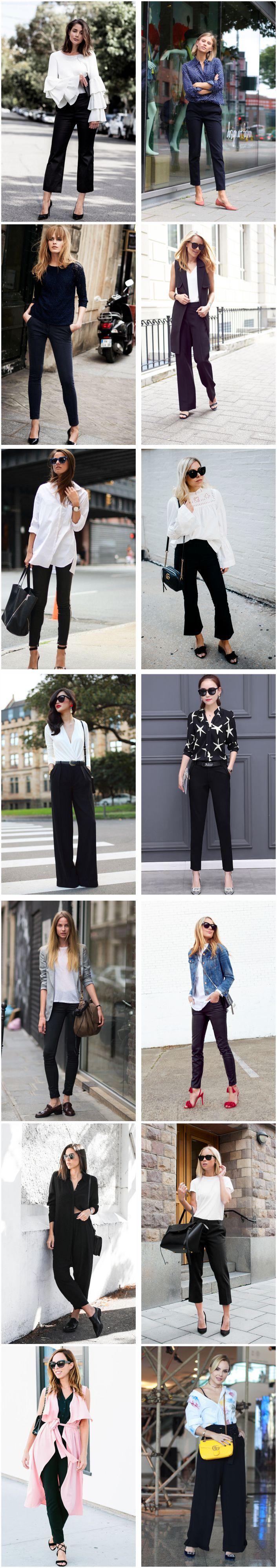 Peça essencial: Calça preta!