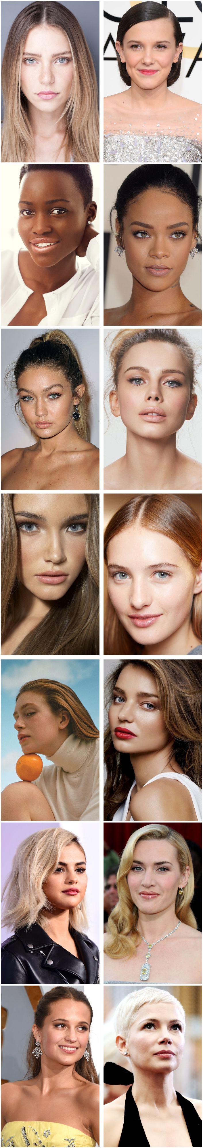 Tendência de beleza make natural como é