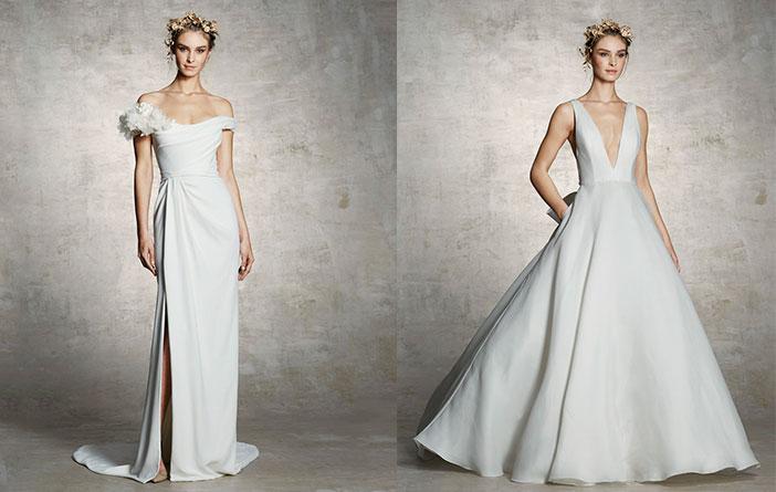 Inspiração: Vestidos de Noiva Minimalistas