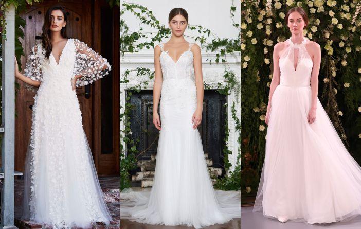 Vestidos de noiva de tule
