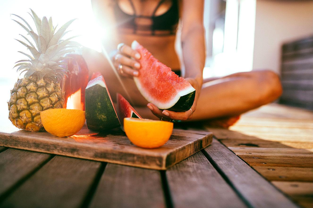 Cuidados com a pele no Inverno - alimentação saudável