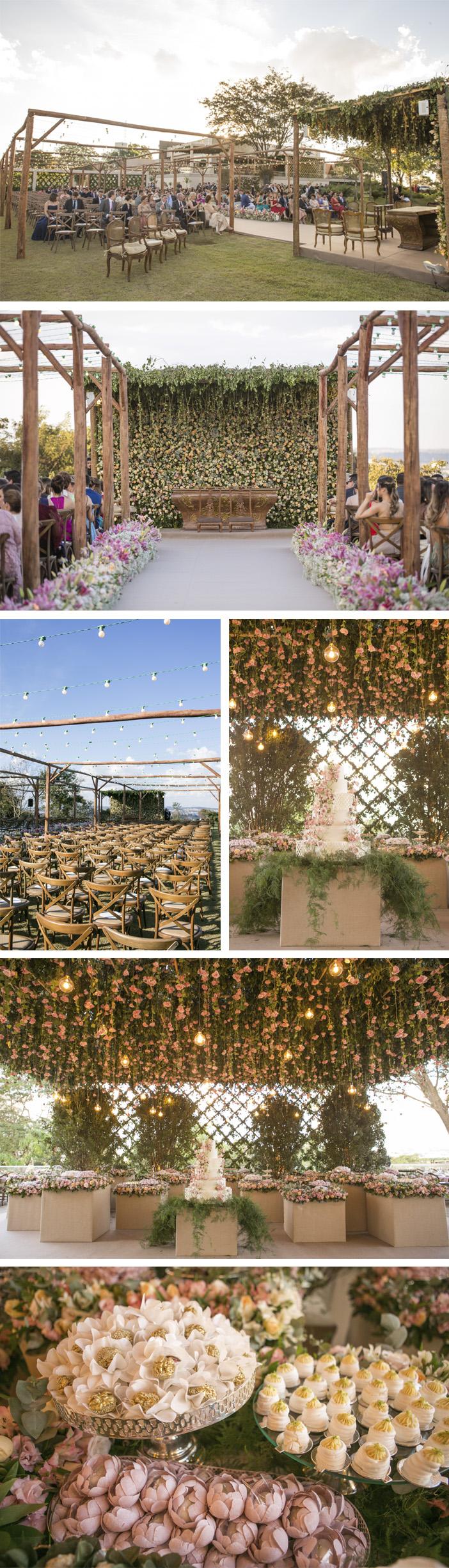 Casamento Layla e William - Detalhes da decoração