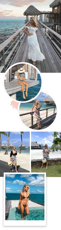Diário de Bordo - Lua de Mel em Bora Bora - Looks