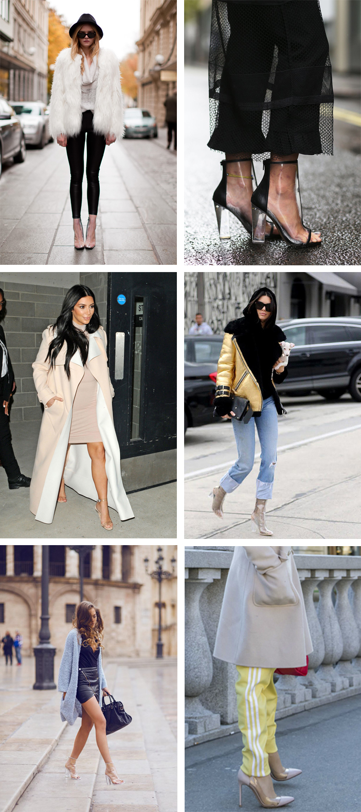 Hot or Not - Sapatos transparentes