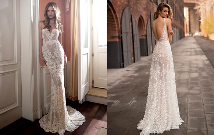 Tendência: Transparência em vestidos de noiva