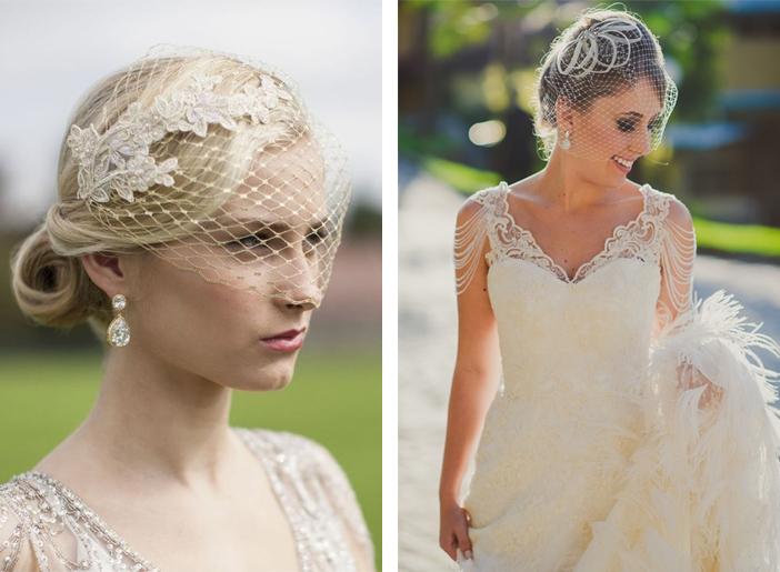 Como escolher o véu de noiva - Véu Violette