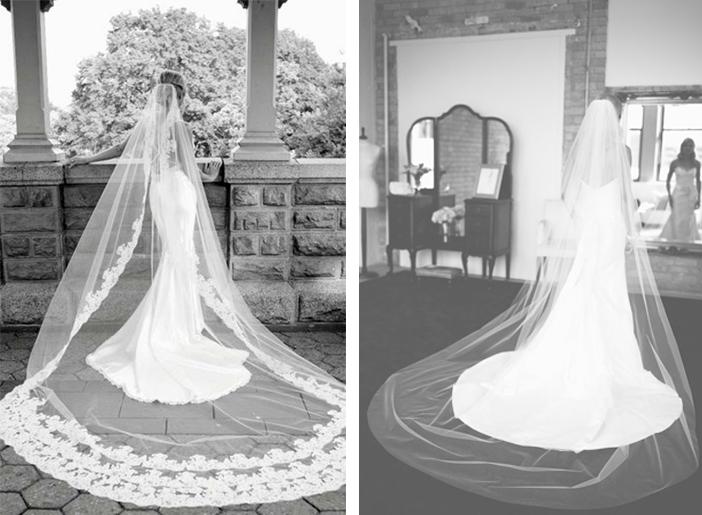 Como escolher o véu de noiva - Véu Catedral