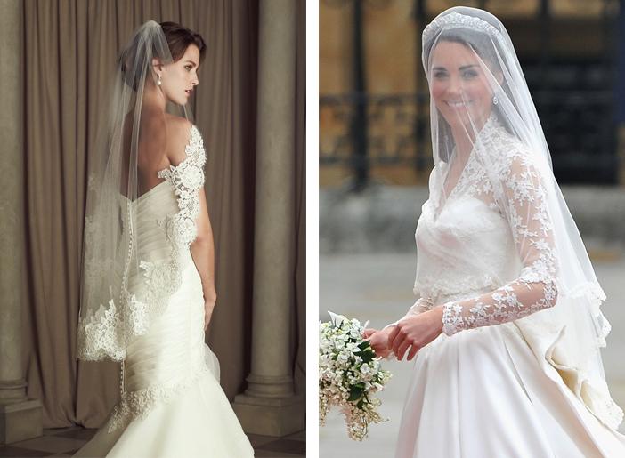 Como escolher o véu de noiva - Véu Médio