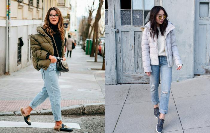 Inspiração: Looks com jaqueta doudoune