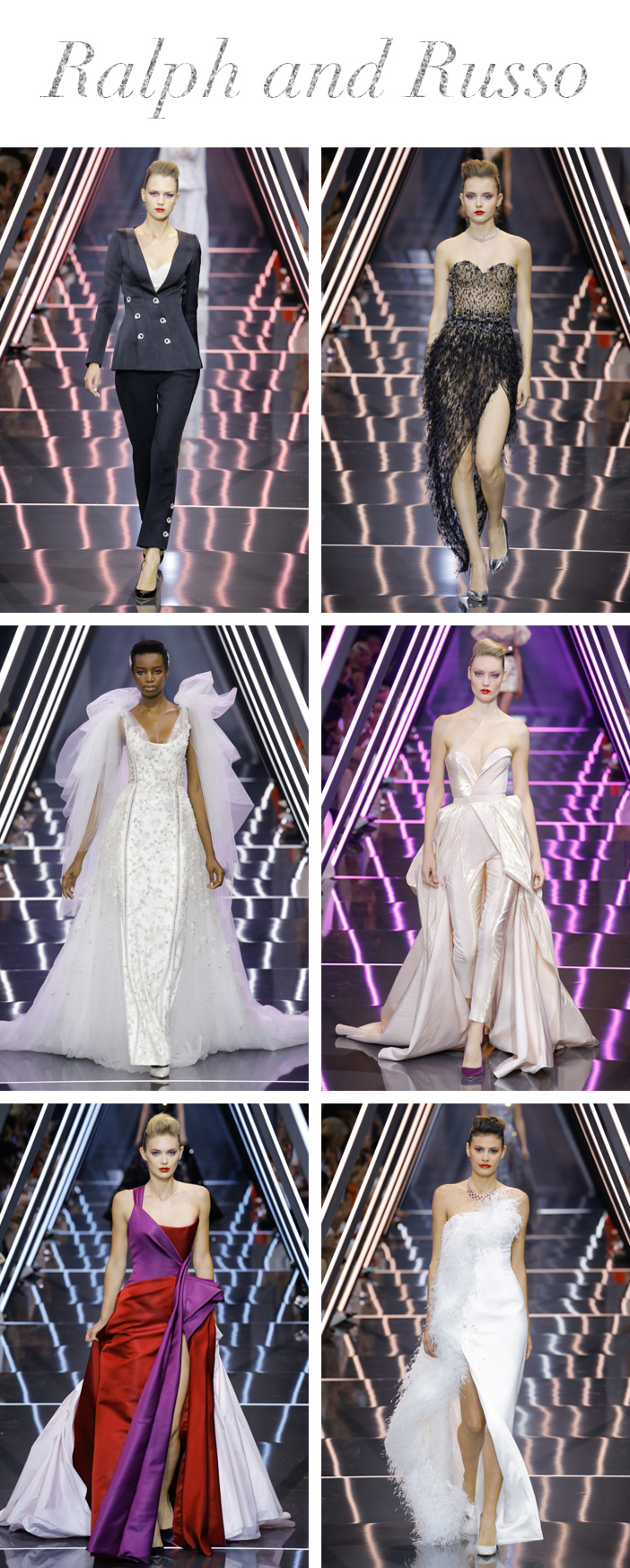 Semana de Alta Costura de Paris - Inverno 2019 - Ralph and Russo