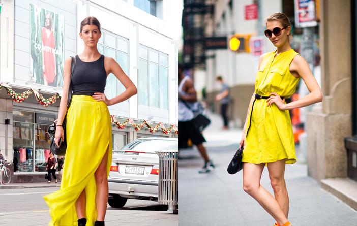 Ideias para usar amarelo