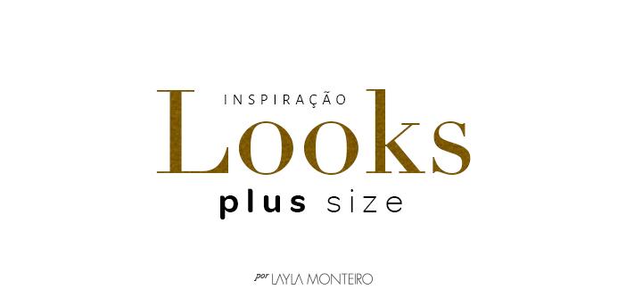 Inspiração: Looks plus size