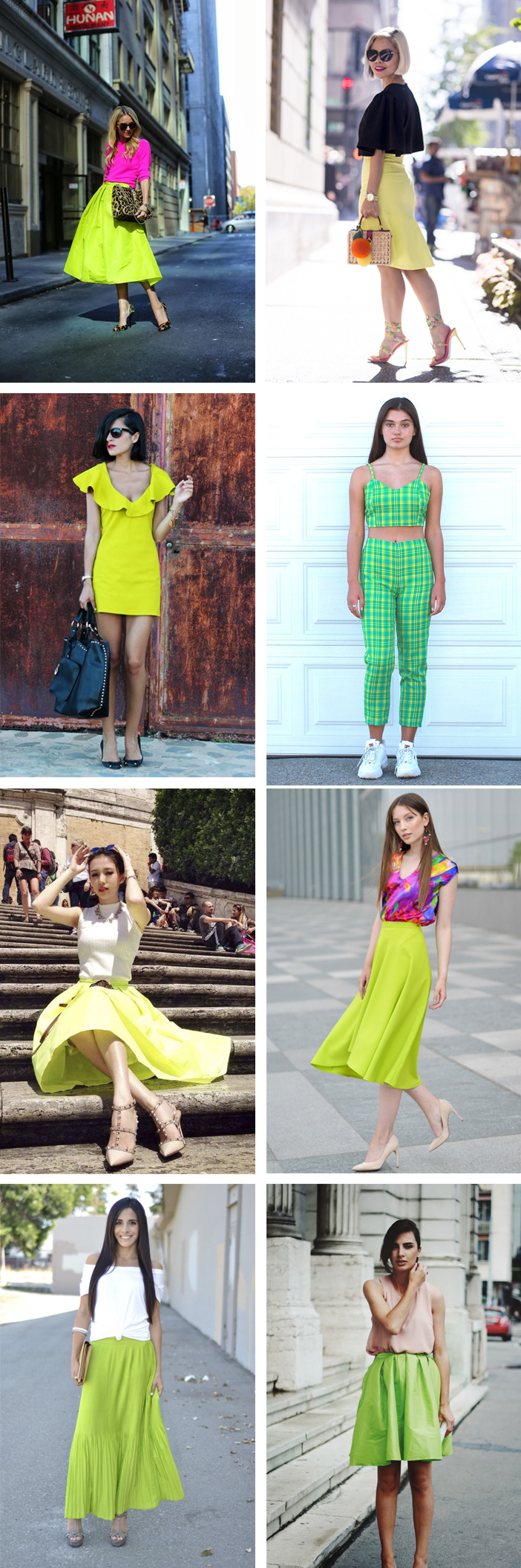 Ideias para usar verde limão no verão