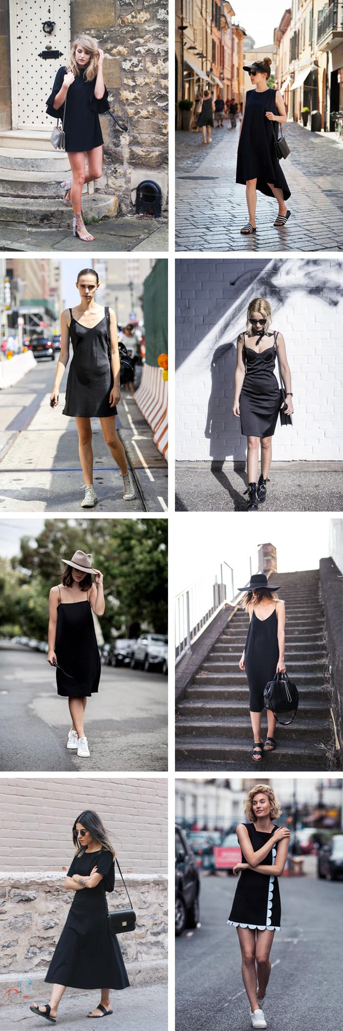 Looks estilosos com vestido preto