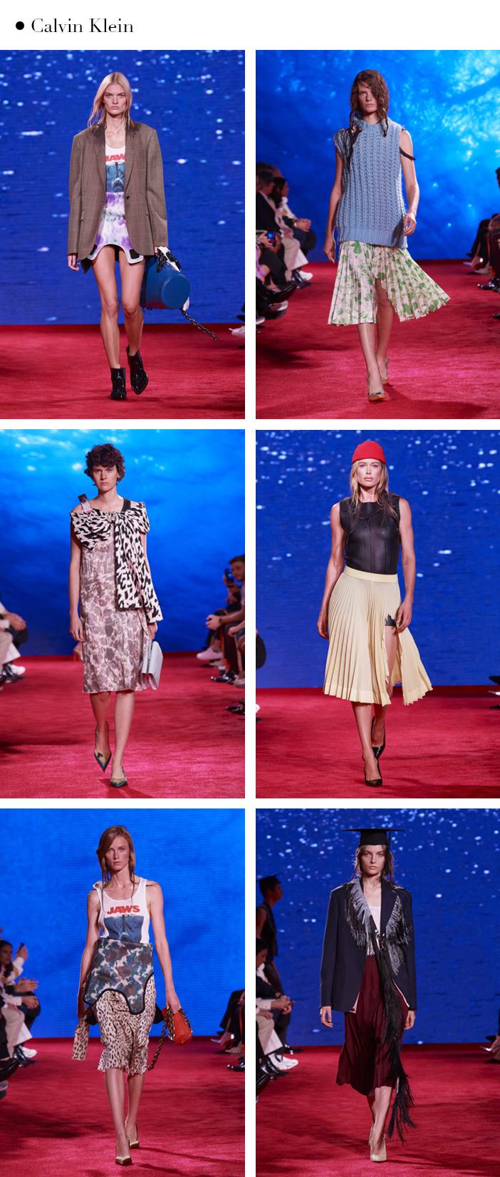 New York fashion week verão 2019 Calvin Klein