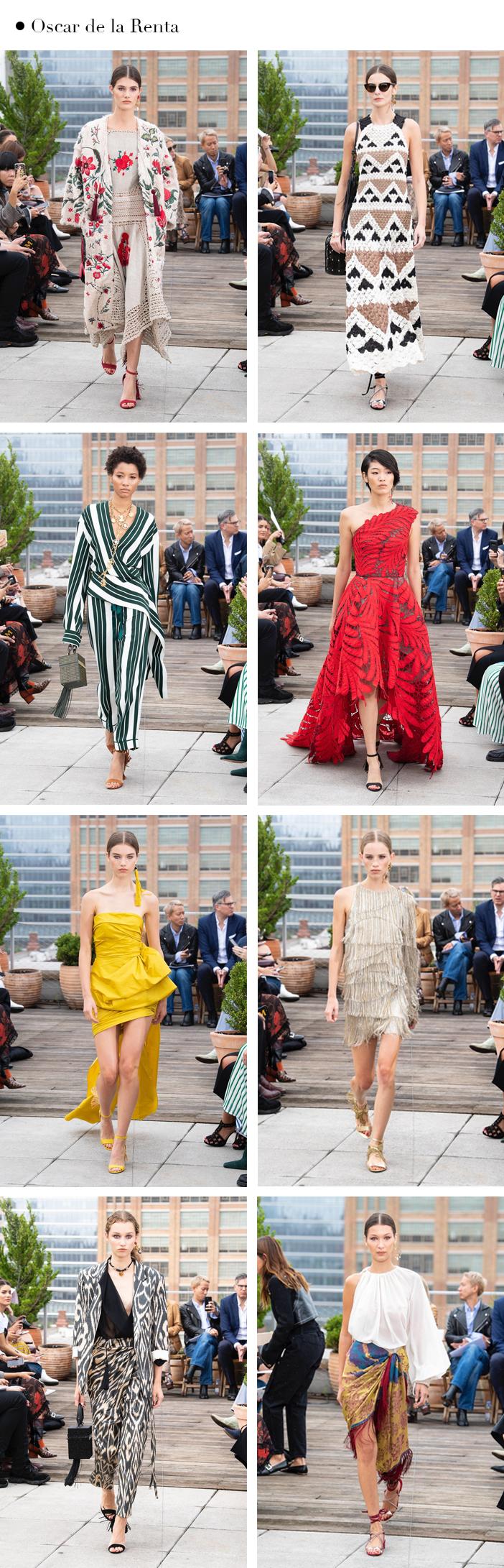 New York fashion week verão 2019 Oscar de la Renta