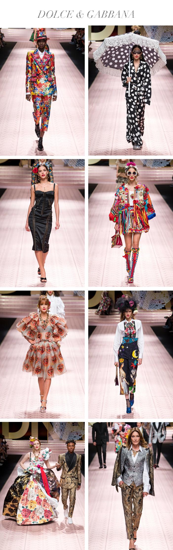 Semana de Moda de Milão - Verão 2019 - Dolce & Gabbana