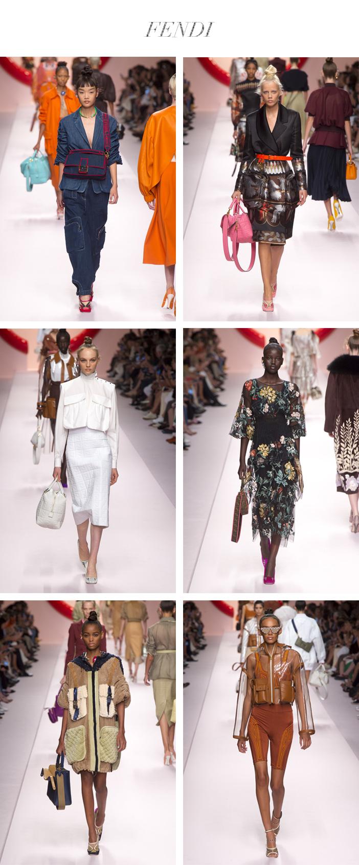 Semana de Moda de Milão - Verão 2019 - Fendi