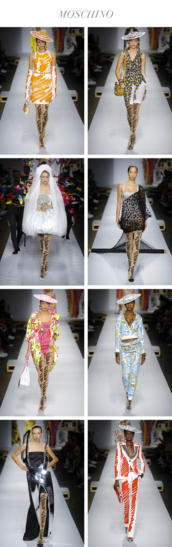Semana de Moda de Milão - Verão 2019 - Moschino