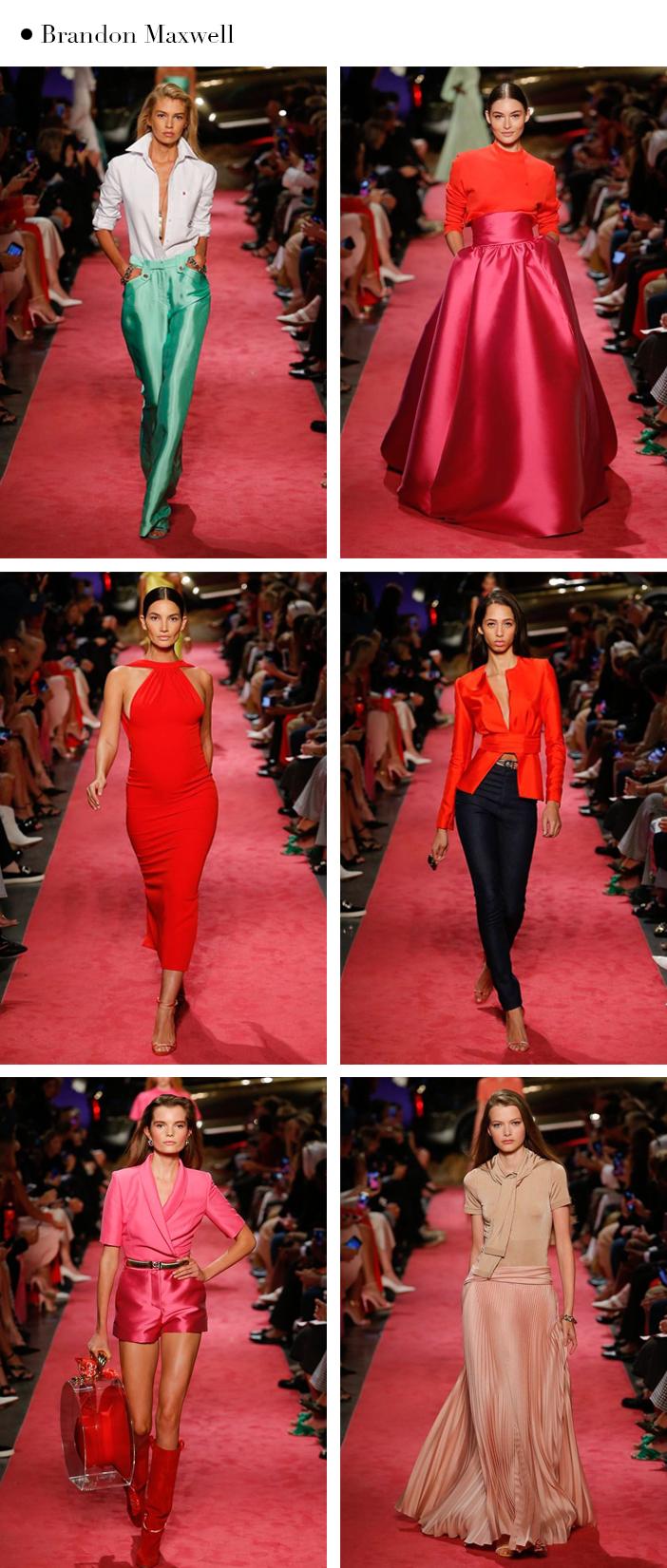Semana de Moda de New York - Verão 2019 - Brandon Maxwell