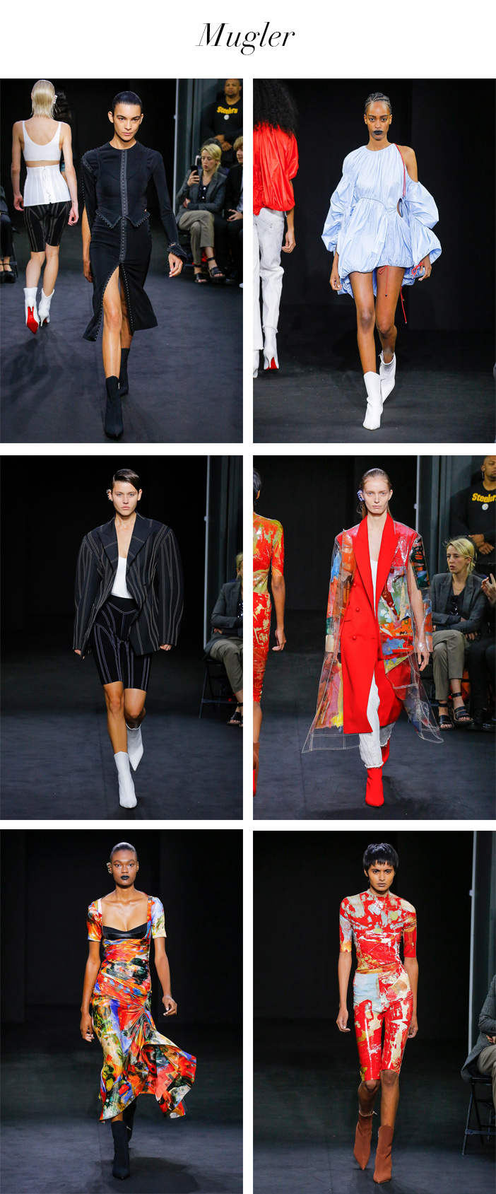 Semana de Moda de Paris - Verão 2018 - Mugler