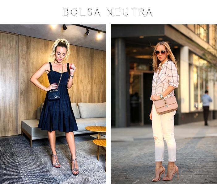 Bolsas - 4 Modelos que vale a pena ter - Bolsa Neutra