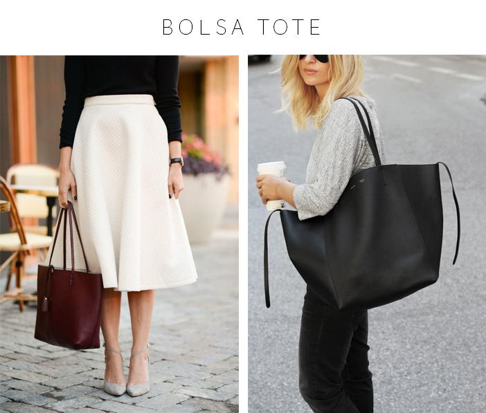 Bolsas - 4 Modelos que vale a pena ter - Bolsa Tote