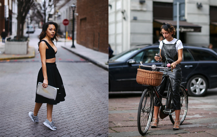 Ideias para usar preto no verão