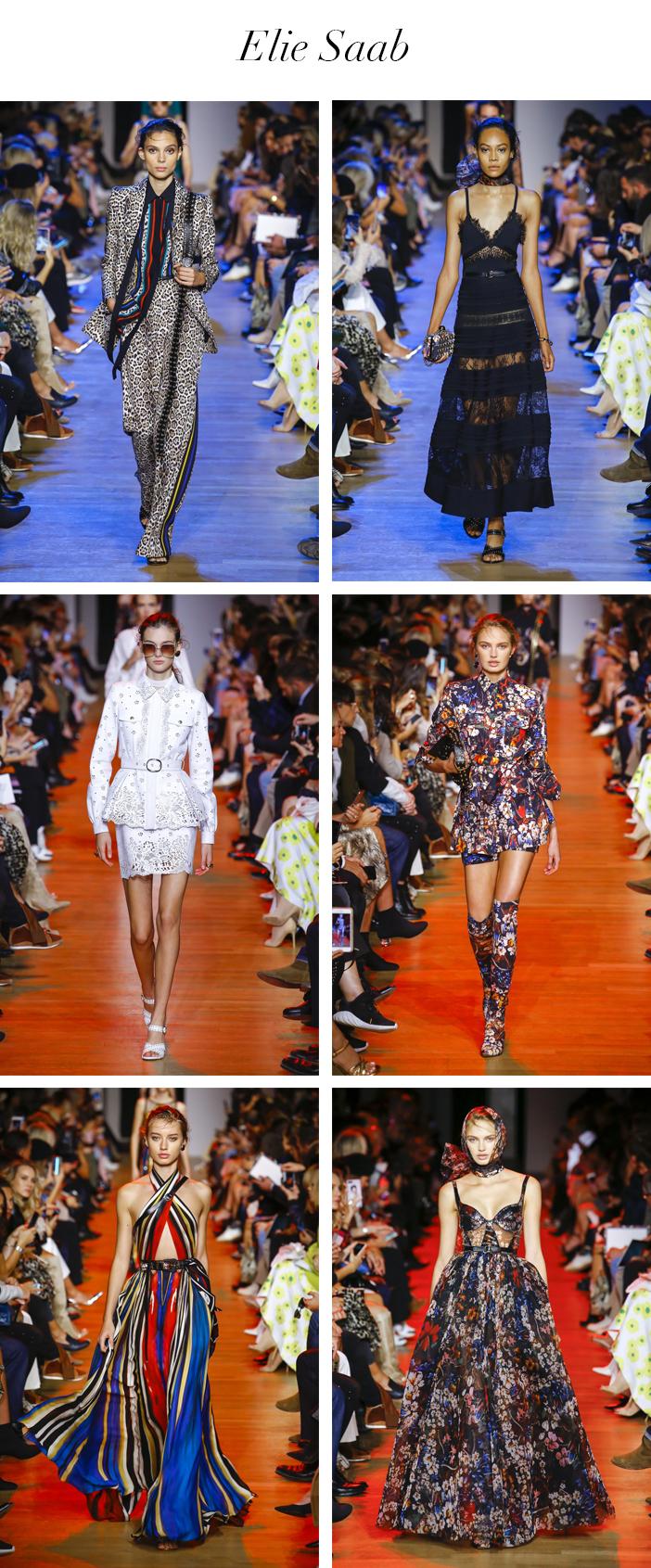 Semana de Moda de Paris - Verão 2019 - Elie Saab
