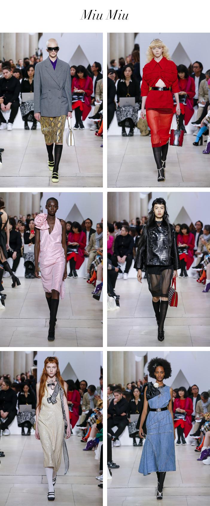 Semana de Moda de Paris - Verão 2019 - Miu Miu