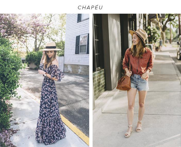 5 Acessórios para o Verão 2019 - Chapéu