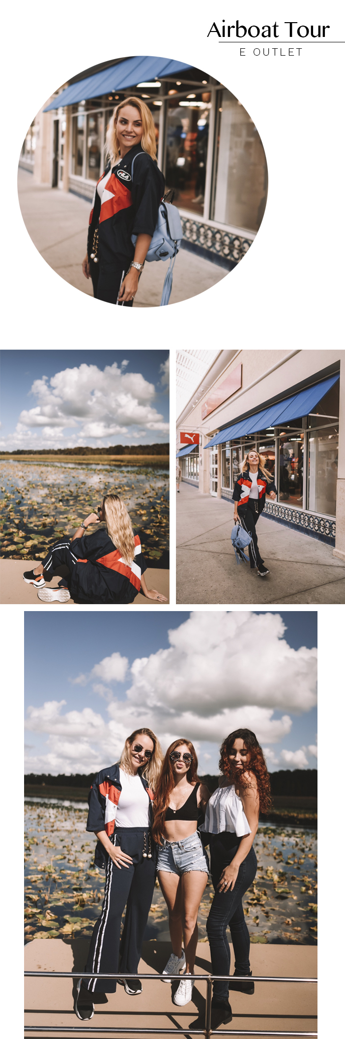 Diário de Bordo: Layla em Kissimmee - Airboat Tour e Outlet