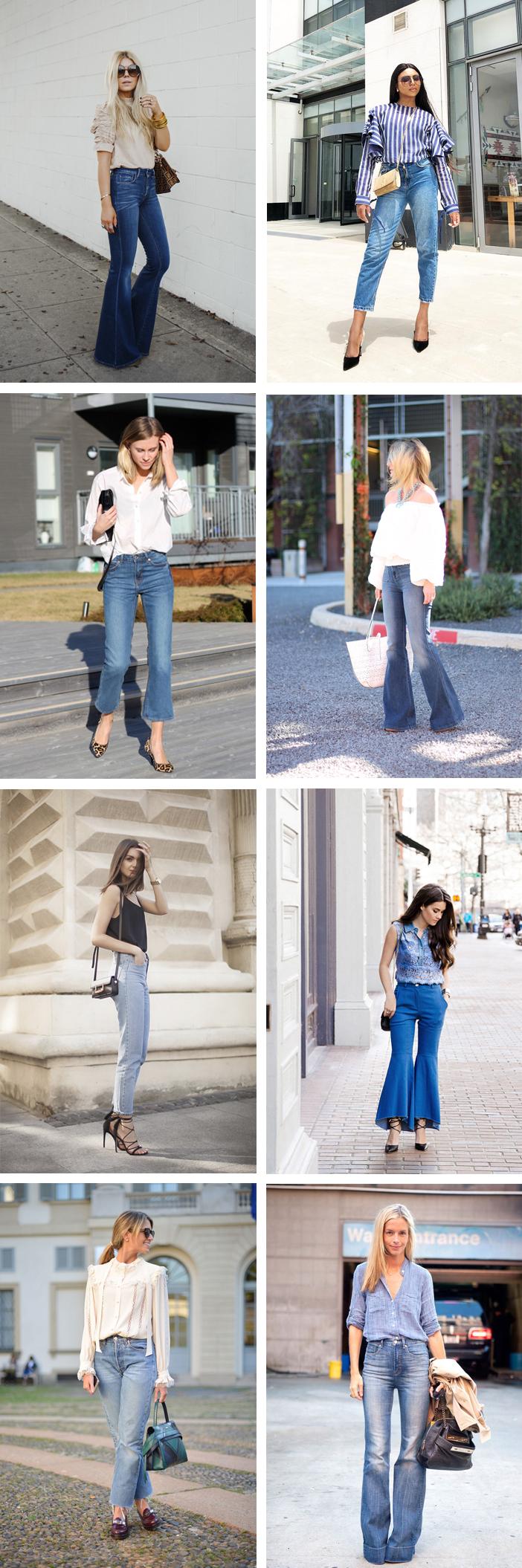 Looks para escritório com calça jeans