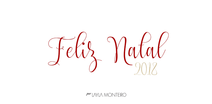 Layla Monteiro - Feliz Natal 2018