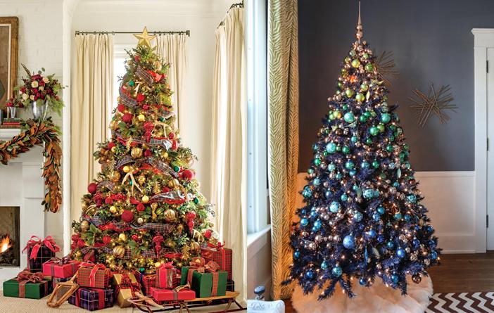 Inspiração - Decoração de árvore de natal