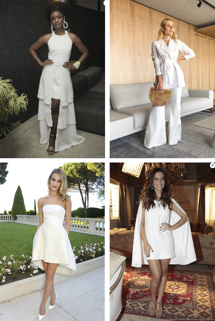 Réveillon - Inspiração de looks - Branco