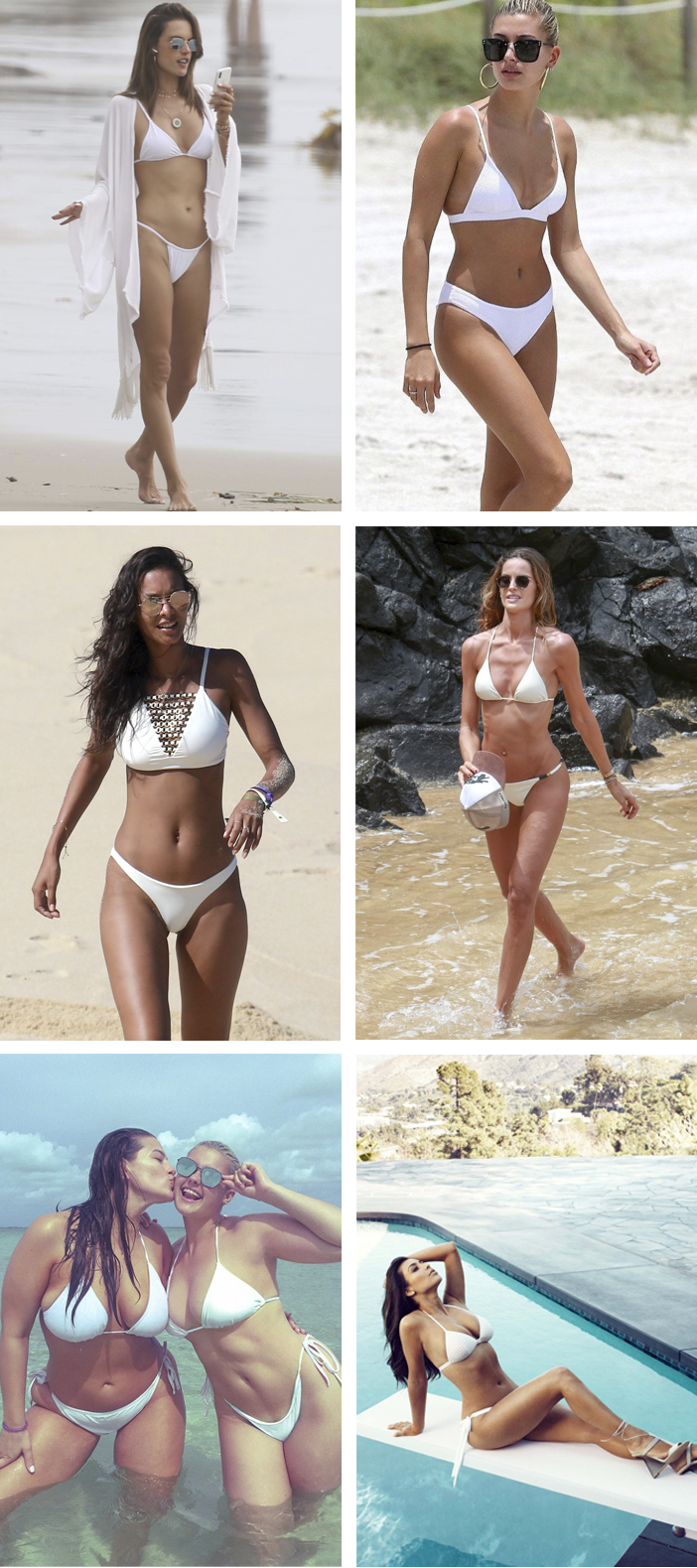 Hot Trend - Biquíni branco