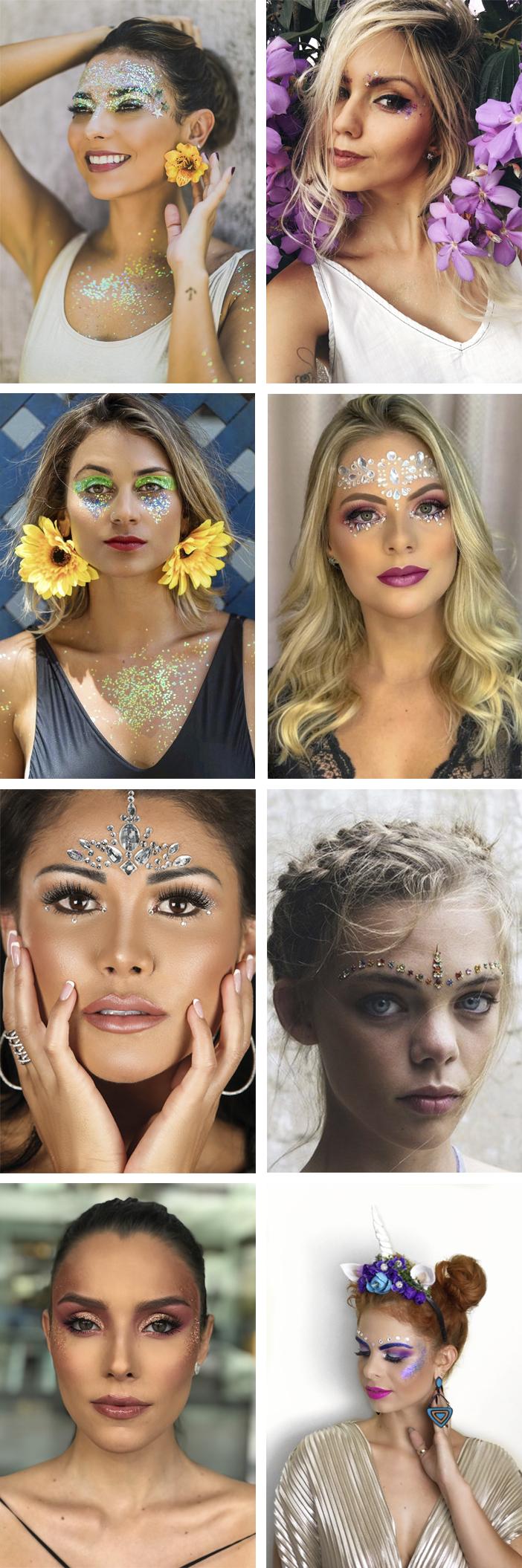 Carnaval - Inspiração de Maquiagem