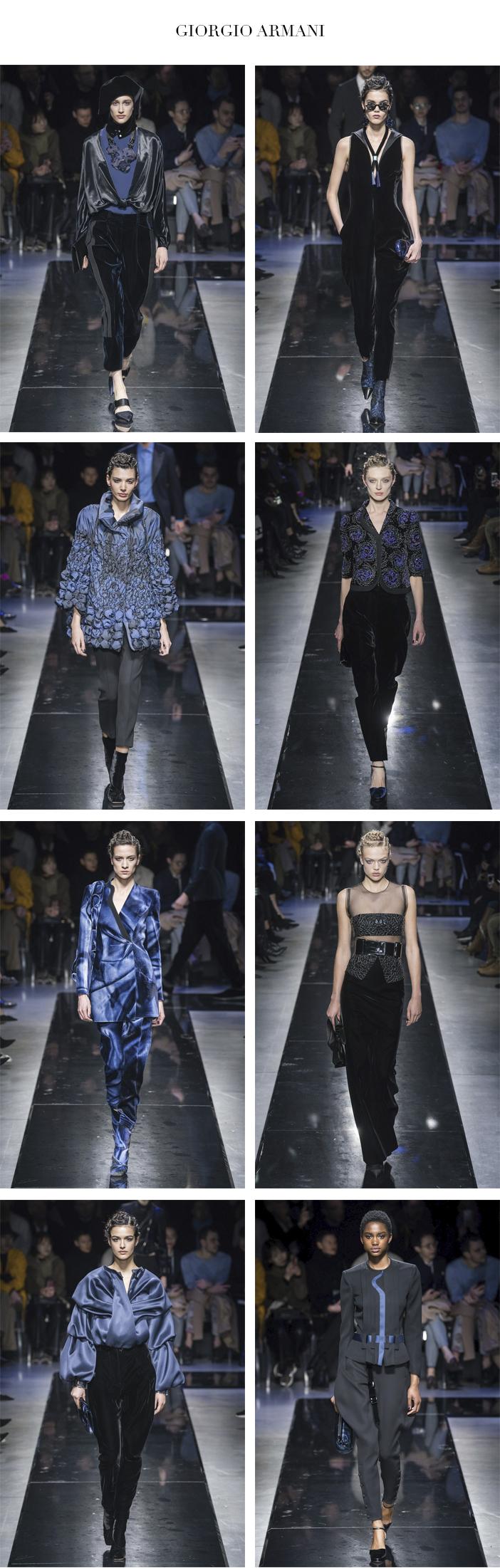 Semana de Moda de Milão - Inverno 2019 - Parte 2 - Giorgio Armani